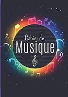 Cahier de musique: Cahier de Musique et solfège avec Portées | Carnet de Partitions | Grand Format A4