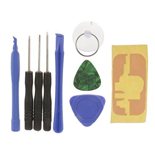 MERIGLARE Kit de Destornillador de Herramienta de Palanca de Reparación Abierta Móvil 9 en 1