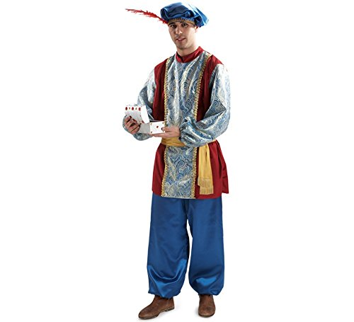 Disfraz o traje Paje del Rey Gaspar extra adulto