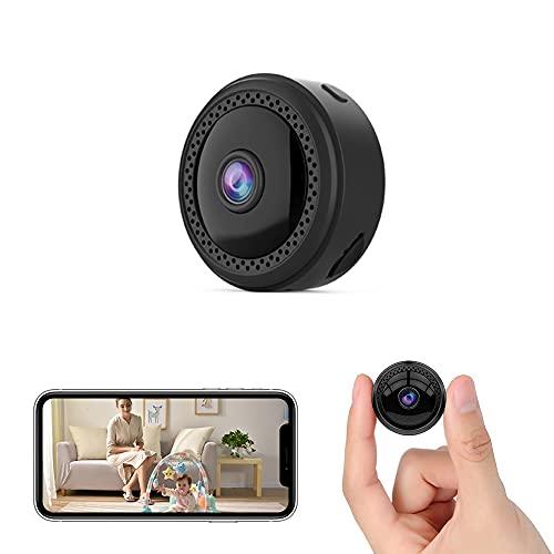 小型カメラ 隠しカメラ 4K超 動体検知 赤外線撮影 150°広角 長時間録画 屋内 屋外用 USB充電 ミニカメラ IOS Android対応 日本語取扱説明書