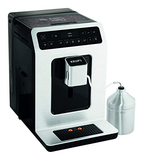 41trlv04BZL - Krups EA891D27 Evidence Automatic, Espresso, Bean to Cup, Coffee Machine, 1450 W, 2.3 liters, Metal