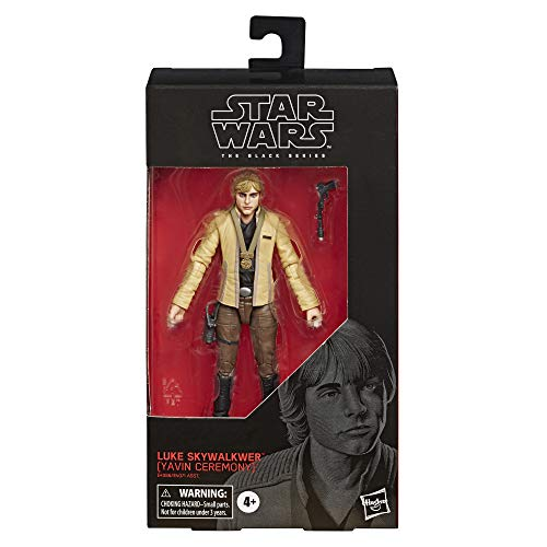 "Star Wars The Black Series Luke Skywalker (Yavin Ceremony) Toy 6"" Scale A New Hope Collectible Figure, Kids Ages 4 & Up"