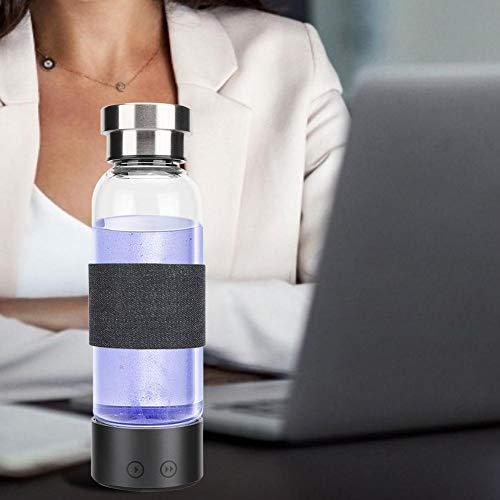 480 ML 1300 mAh Riche Hydrogène Tasse USB Électrolyse Ioniseur Générateur d'eau Bouteille Hydrogène Anion Générateur Portable Intelligent Tasse d'eau