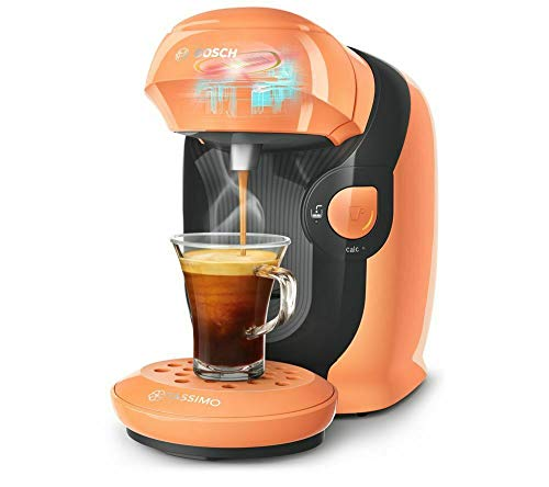 TASSIMO by Bosch Style TAS1106GB Automatic Coffee Machine Peach