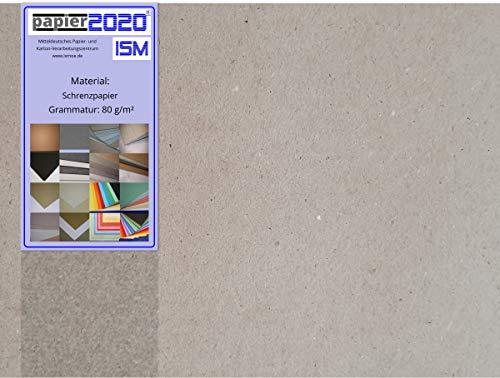 250 kg, ca. 94514 Stück Packpapier; Einschlagpapier; 80g/qm; 148 x 210 mm