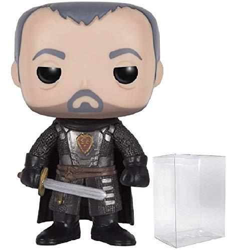 Game of Thrones: Stannis Baratheon Funko Pop! Vinyl Figure (Includes Compatible Pop Box Protector Case)
