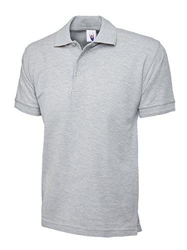 Uneek clothing - Polo - - Polo - Col Polo - Manches Courtes Homme - Gris - Gris - Large