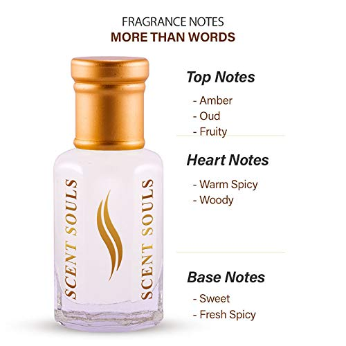 Scent Souls More Than Words Long Lasting Attar Fragrance Perfume Oil For Men- 3 ml