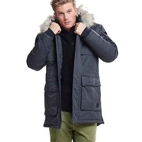 Only & Sons gelegenheden Sons Waterproof Parka Coat 22010876 Blauw
