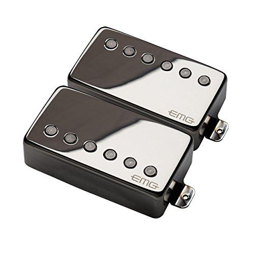 EMG Active Guitar humbucker pickup set Small Medium Large X-Large 2X-Large Black Chrome