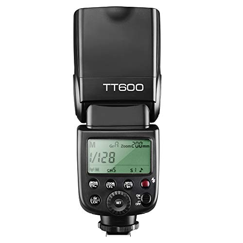 Godox Camera Flash Speedlite Master Slave Off GN60 Built-in 2.4G Wireless X System Transmission Compatible for Canon, Nikon, Pentax, Olympus, Fuji and Other DSLR Camera with Standard Hotshoe