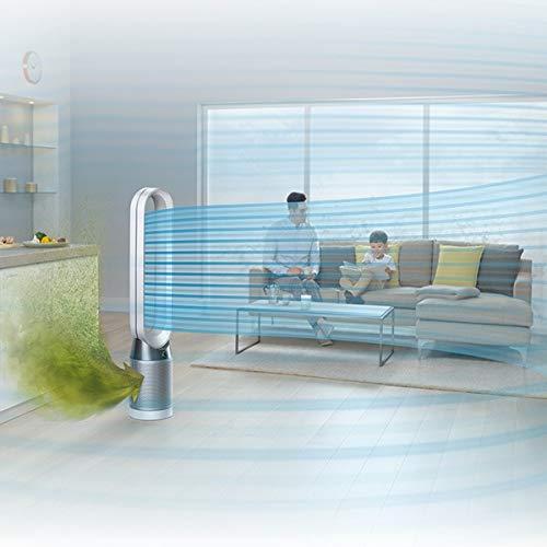 ダイソン【扇風機】空気清浄機能付タワーファン(リモコン付ホワイト/シルバー)DysonPureCool空気清浄タワーファンTP04WSN