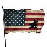 Wrestling Bandera americana Bandera de jardín vintage Bandera de interior y exterior 3 x 5 pies, Banderas de playa duraderas resistentes a la decoloración con encabezado, Fácil de usar