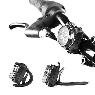 مجموعة مصابيح الدراجة القابلة لإعادة الشحن Ascher للبيع