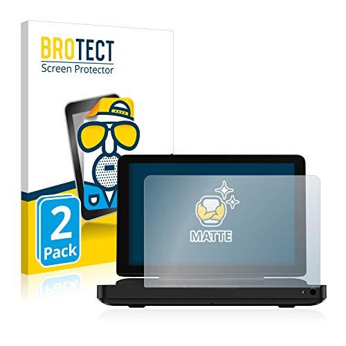 BROTECT 2X Entspiegelungs-Schutzfolie kompatibel mit GPD Win Max Displayschutz-Folie Matt, Anti-Reflex, Anti-Fingerprint