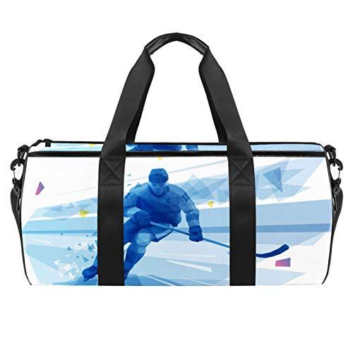 ASDFSD Bolsa deportiva de playa, con correa ajustable para el hombro, bolsos y cremallera...