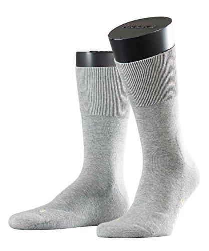 FALKE Unisex Socken, Run U SO- 16605, Grau (Light Grey 3400), 39-41