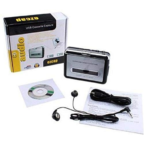 Conversor De Fita Cassette Usb Tocador E Conversor K7 Mp3…