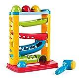 Miniland- Toboggan Ball Circuito de Bolas para bebé, Multicolor (97282)