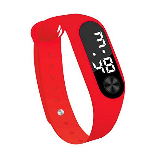 Moderne Armbanduhren FüR Herren Waselia Luxusuhren GüNstig Online Kaufen/Uhren Ankauf/Herrenuhren Luxusuhren/Mode Digital Led Sportuhr Unisex Silikonband Armbanduhren MäNner Frauen
