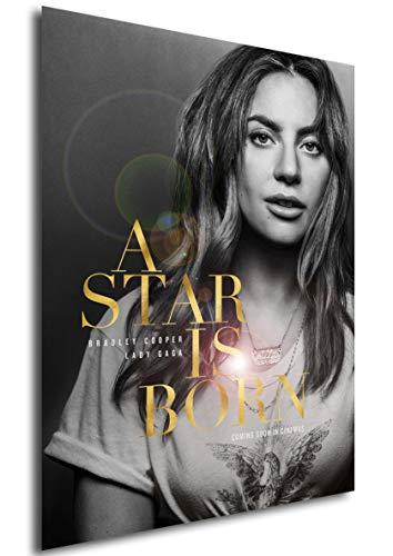 Instabuy Poster Cartel De Pelicula - Ha Nacido una Estrella - Lady Gaga (Cartel 70x50)