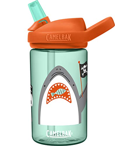 CamelBak Botellas Eddy+ Kids, Niños, Verde, ESTANDAR