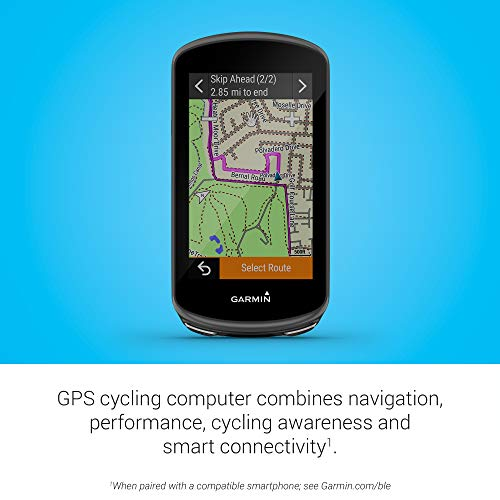 Garmin Edge 1030 Plus, GPS Cycling/Bike Computer, On-Device Workout Suggestions, ClimbPro Pacing Guidance and More (010-02424-00)