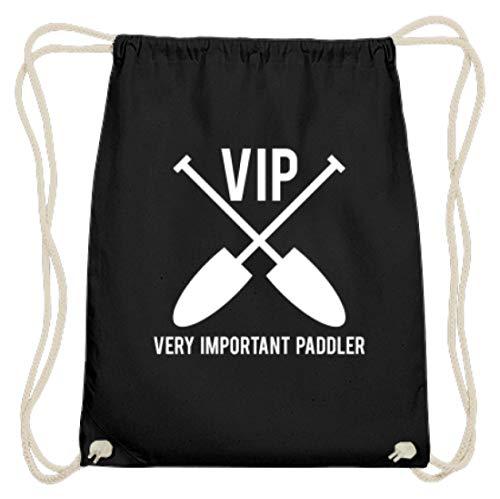 VIP - Very Important Paddler Drachenboot Damen Herren - Schlichtes Und Witziges Design - Baumwoll Gymsac