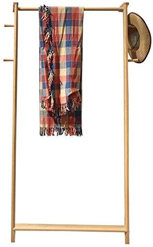 YLCJ kapstok, eikenhout, eenvoudige houder, voor woonkamer, modern (grootte: 168 & Times; 80 cm)
