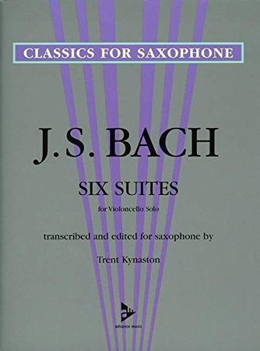 6 Suites (Kynaston) (Advance Music: Classics for Saxophone)