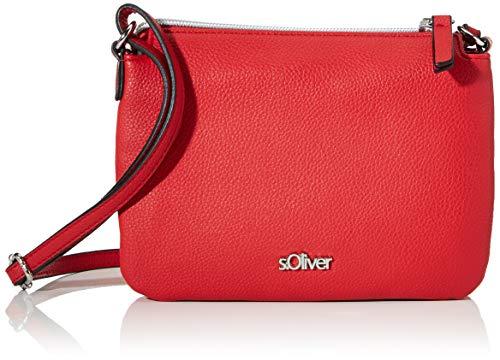 s.Oliver RED LABEL Damen Tasche mit Umschlagklappe red 1