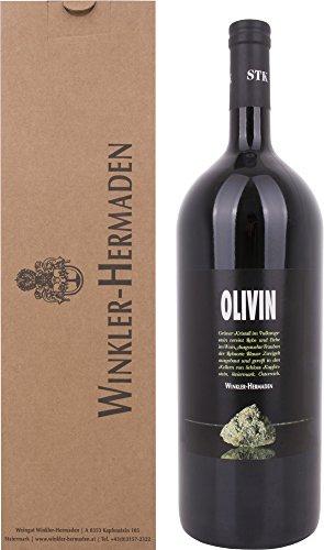 Winkler-Hermaden Olivin Magnum mit Geschenkverpackung Zweigelt 2015 trocken (1 x 1.5 l)