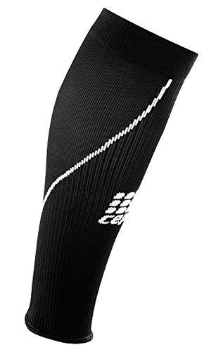 CEP Women's Compression Allsport  Sleeve Socks  Black (Medium ,12.5 - 15 Inch Calf)