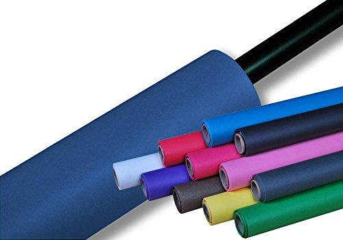 moderntex Fotostudio Papierhintergrund 180g/m², 11m x 2,72m himmelblau, Made in USA, Hintergrundkarton
