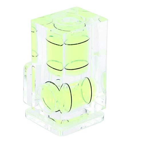 Waterpas voor flitsschoen, draagbare, tweedimensionale, kleine waterpas gemaakt van universeel plastic voor spiegelreflexcamera's