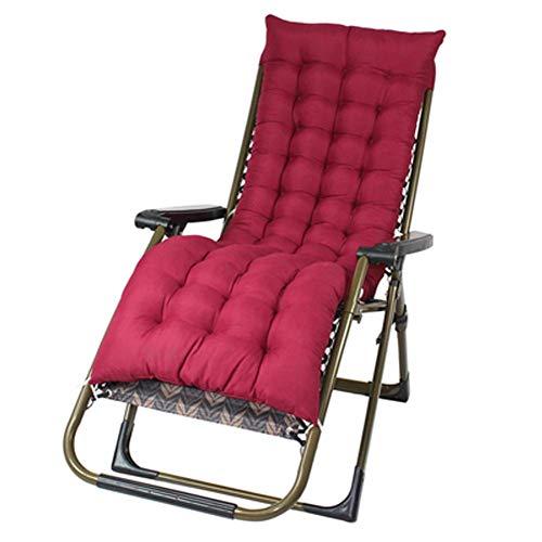 AWJ Silla Zero Gravity para Patio, Acolchada, Plegable Relax The Sofa Lounge, Silla de Exterior, Ajustable de sillones para Patio Trasero