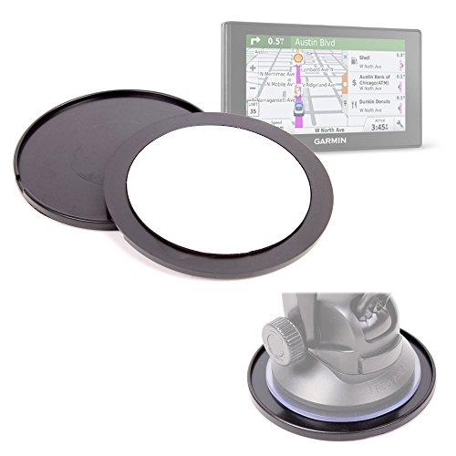 DURAGADGET Pack De 2 Discos Adhesivos para Garmin DriveSmart 60LMT / 70LMT Mantener Su Soporte En El Salpicadero De Su Vehículo
