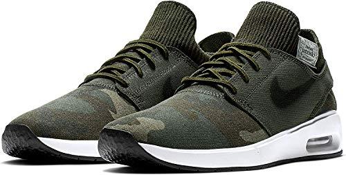 Nike Herren Air Max Janoski 2 PRM Skateboardschuhe, Grün (Oliv braun schwarz Grün), 44.5 EU