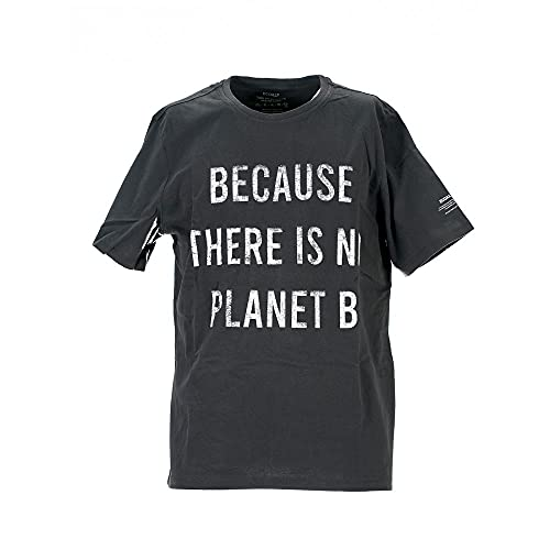 ECOALF Castello - Camiseta de manga corta para hombre Negro XXL