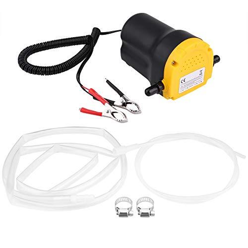 Duokon 12V 60W Pompe à Vidange voiture,Pompe à Huile Diesel Aspiration Kit,Pompe à Vidange Huile Diesel 250L / Heure pour Voiture Quad