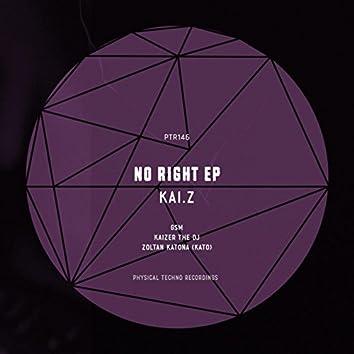 No Right Ep