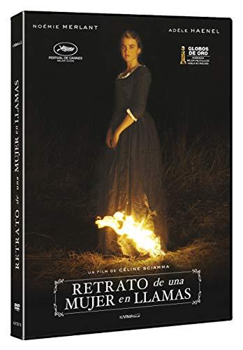 Retrato de una mujer en llamas