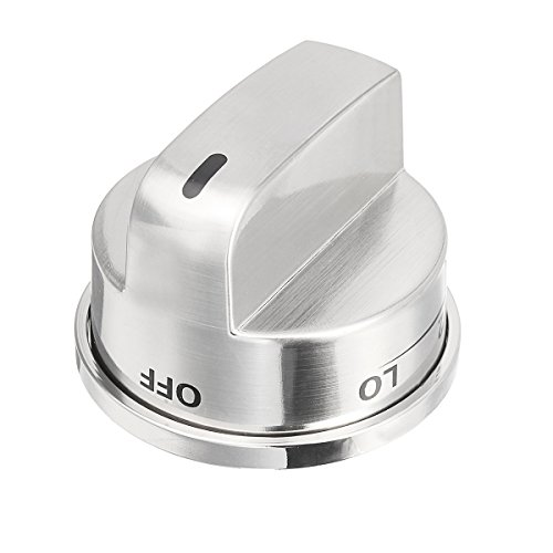 Kitchen Gas Stove Range Burner Knob Control Switch Nickle Burshed for LG AP4447911 PS3534129