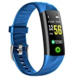 Smart Watch for Kids Girl Women Lady Swim, Heart Rate Monitor Smartwatch with Aerobic Exercise Indicator,120 Feet Waterproof Calorie Counter Activity Tracker, Smart Wristband with Sleep Monitor