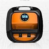 MICEROSHE Pompe de compresseur d'air Portable Portable Pneu de Voiture 12V Pompe Rapide gonfleur Mini LED Affichage numérique 60 Inflation compresseur d'air (Couleur : Orange, Taille : Taille Unique)