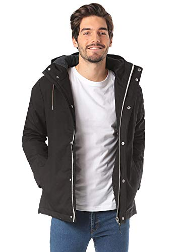 Revolution (RVLT Men Jacket Heavy Jacke, Black, XXL