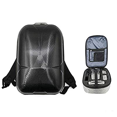 Egosy Hard Shell Waterproof Backpack Travel Bag for DJI Mavic 2 Pro/Zoom Drone DJI Smart Controller and Other Accessories