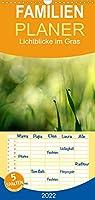 Lichtblicke im Gras - Familienplaner hoch (Wandkalender 2022 , 21 cm x 45 cm, hoch): Die Natur ist eine Kuenstlerin. (Monatskalender, 14 Seiten )