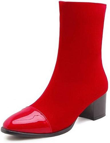 1TO9 MNS03145, Sandales Compensées Compensées Compensées Femme - Rouge - rouge, 36.5 113