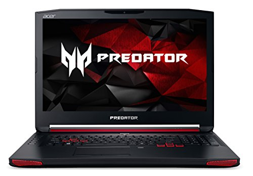 Acer Predator 17 (G9-791-79HR) 43,94 cm (17,3 Zoll Ultra HD IPS) Laptop (Intel Core i7 -6700HQ, 64GB DDR4-RAM, 512GB SSD + 2TB HDD, NVIDIA GeForce GTX 980M,Blu-Ray, Windows 10 Home) schwarz